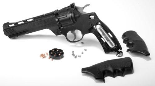 Crosman Vigilante Revolver Clip and CO2 installation